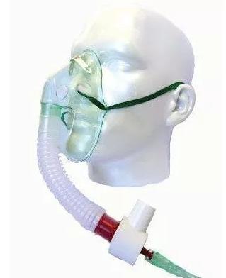Válvula venturi para máscara de respiración